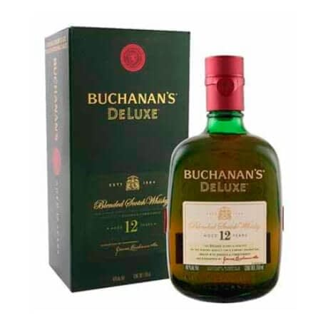 Whisky Buchanan's DeLuxe 12 Años Botella x 750ml