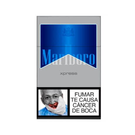Cigarrillos Marlboro Ice Paquete