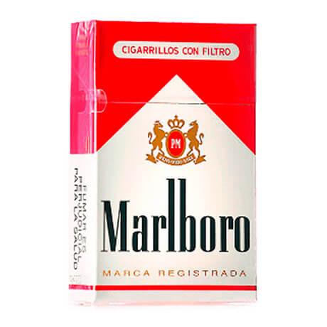 Cigarrillos Marlboro Rojo Paquete