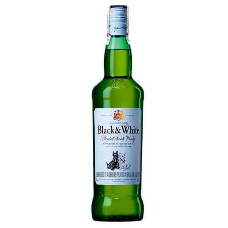 Whisky Black and White 8 Años Botella x 700 ml