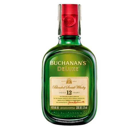 Whisky Buchanan's DeLuxe 12 Años Media Botella x 375ml