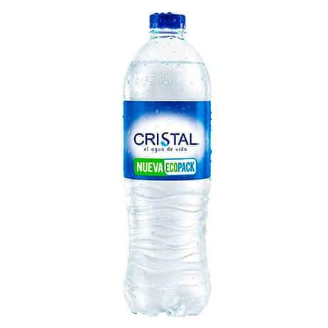 Agua Cristal Sin Gas x 600ml