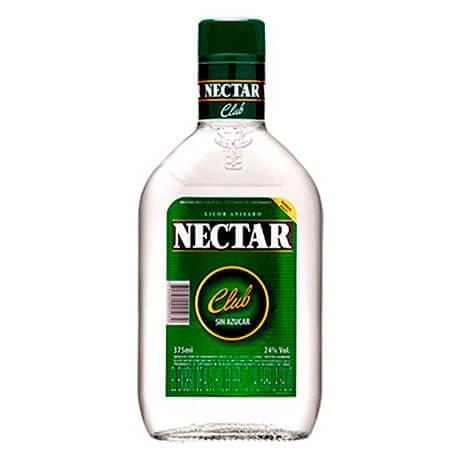 Aguardiente Nectar Club Media Botella x 375ml