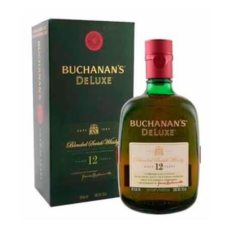 Whisky Buchanan's DeLuxe 12 Años Botella x 750ml
