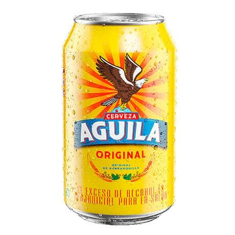 Cerveza Aguila Original Lata x 330ml