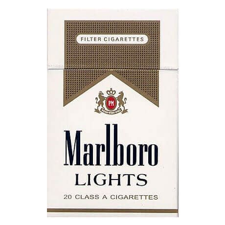 Cigarrillos Marlboro Light Paquete