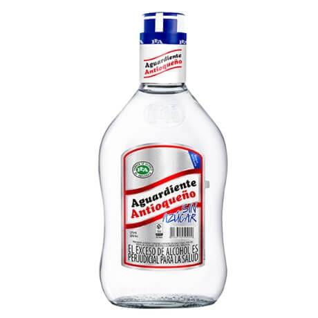 Aguardiente Antioqueño sin Azúcar Media Botella x 375ml