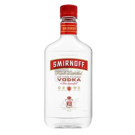 Vodka Smirnoff Media Botella x 375ml