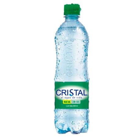 Agua Cristal con Gas x 600ml