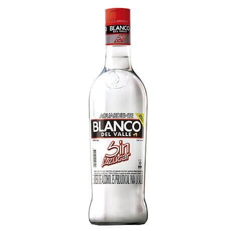 Aguardiente Blanco del Valle Botella x 750ml