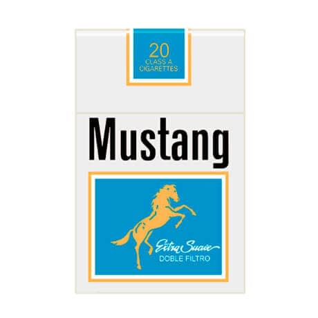 Cigarrillos Mustang Paquete