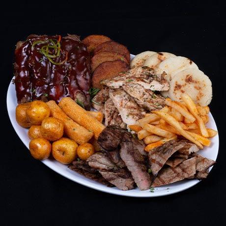 Picada de carnes mixtas
