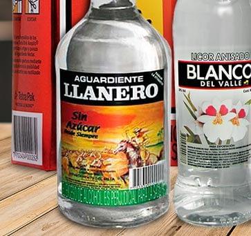 Aguardiente Llanero