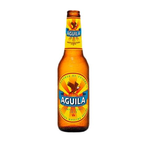Cerveza Aguila Botella