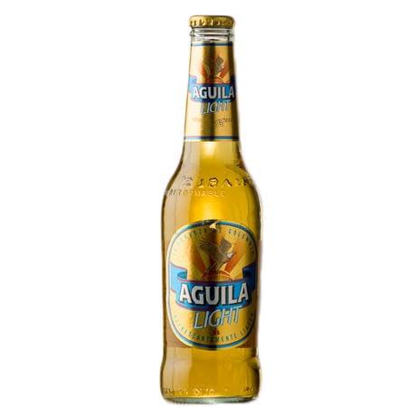 Cerveza Aguila Light Botella