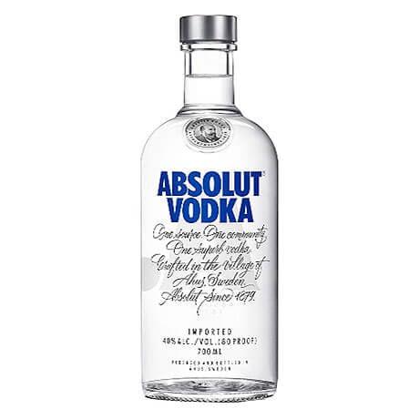 Vodka Absolut Media Botella x 700ml