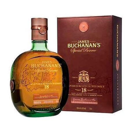 Whisky Buchanan's 18 Años Reserva Especial Botella x 750ml