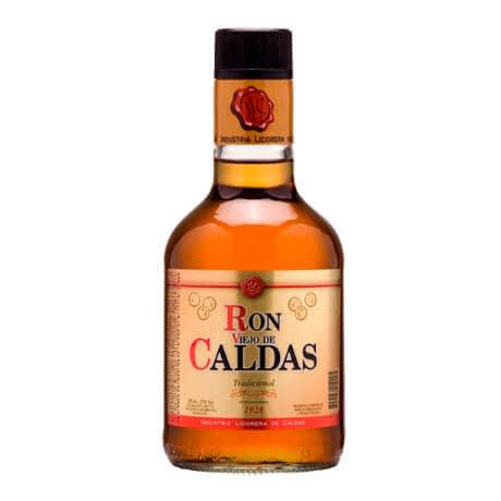Ron Viejo de Caldas Tradicional Media Botella x 375ml