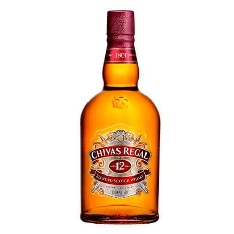 Whisky Chivas Regal 12 Años Botella x 700ml