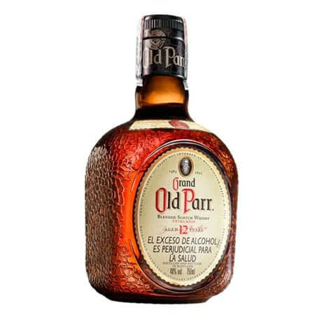 Whisky Old Parr 12 Años Botella x 750ml