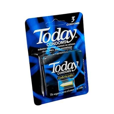 Preservativos TODAY Paquete x 3