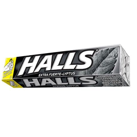 Halls Caramelo Duro x 9 Unidades