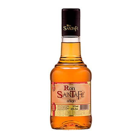 Ron Añejo Santafe Media Botella x 375ml